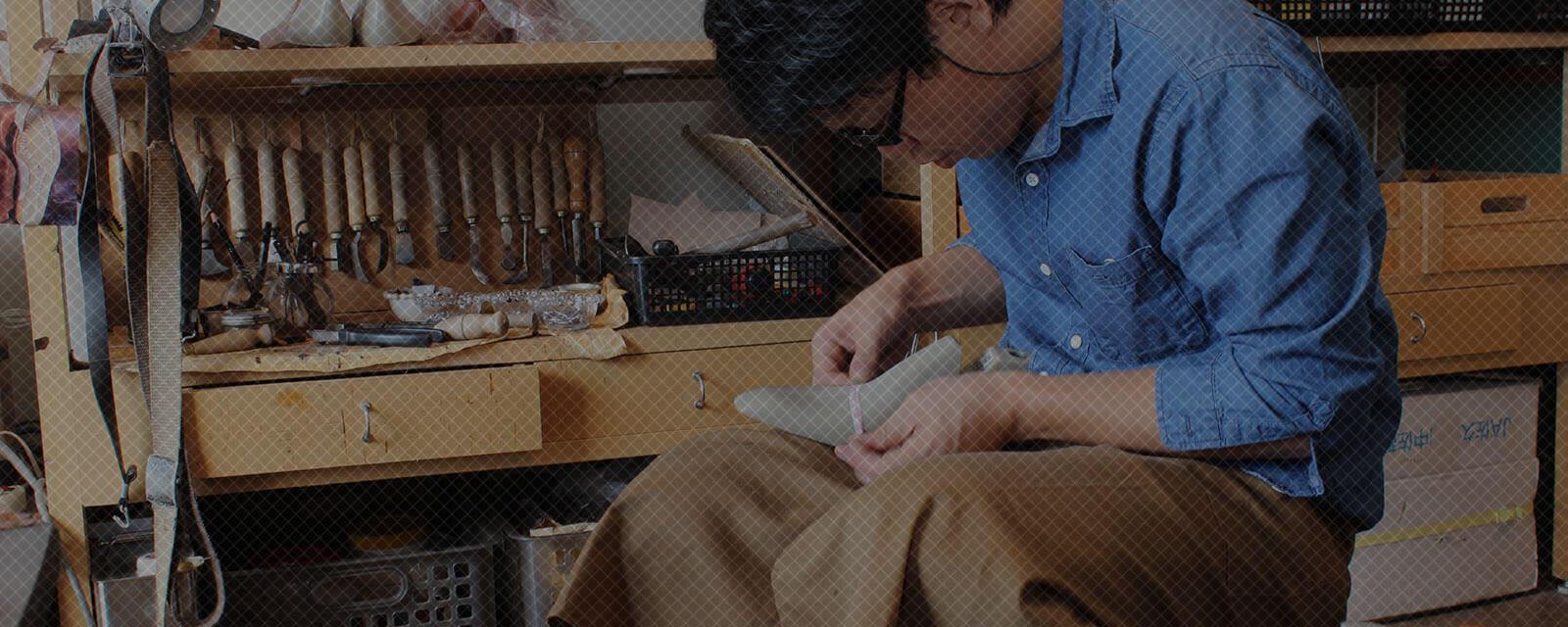 注文靴や靴制作教室を運営しています。